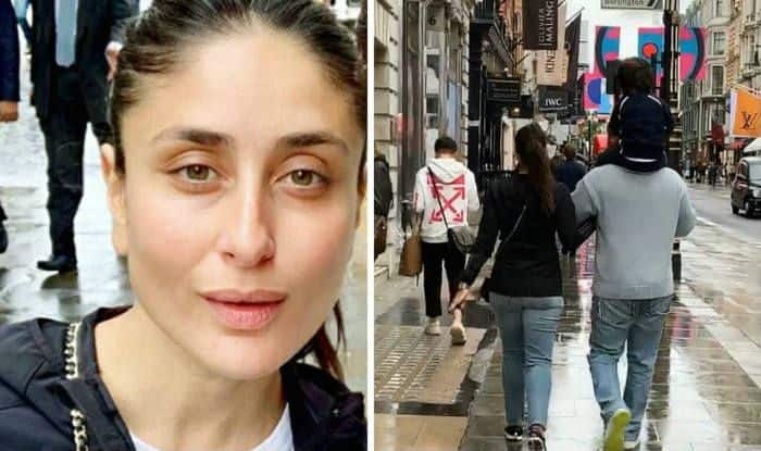 Taimur Ali Khan Continues to Have Piggyback Rides in London, New Photo of Kareena Kapoor-Saif Ali Khan Out