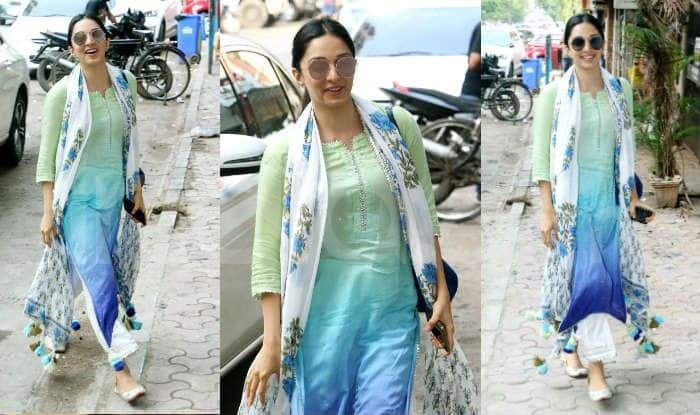 Kiara Advani Continues to Flaunt Her Kabir Singh-Look, Spotted in Pretty Blue Suit