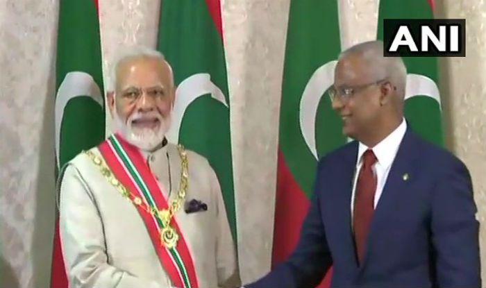 PM Modi, Maldives President Ibrahim Solih