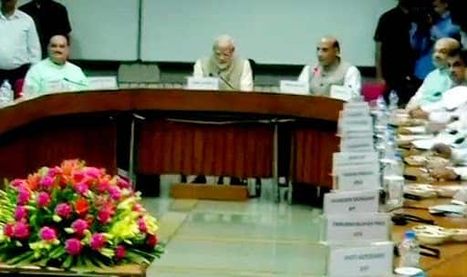 All-party Meet Over 'One Nation One Election' Held in Parliament; Naveen Patnaik Said 'BJD Supports Idea'