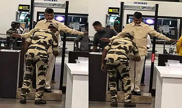 Former Andhra CM Chandrababu Naidu Denied VIP Access to Aircraft, Frisked at Gannavaram Airport
