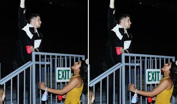 Priyanka Chopra, Nick Jonas Recreate Romeo-Juliet Scene And it is Too Cute to Handle