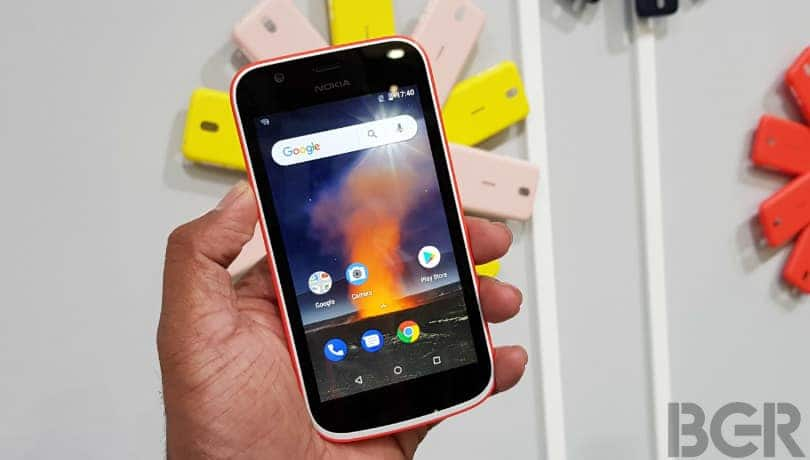 Nokia 1: Android Pie update rolling out to users in India