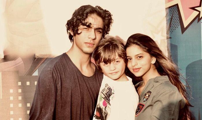 Shah Rukh Khan's kids Suhana Khan, AbRam Khan and Aryan Khan