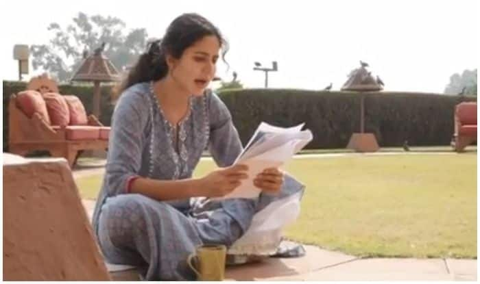 Katrina Kaif Memorising Bharat's Dialogues Sitting on Garden Pathway Will Remind You of Your Theatre Days!