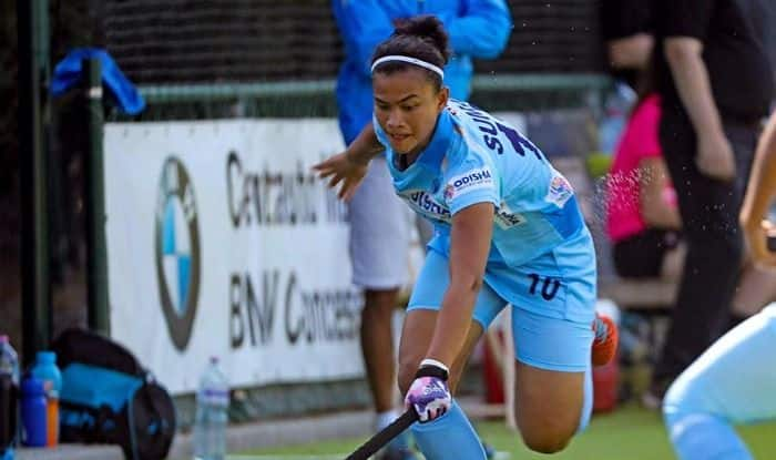 Indian Jr. Women's Team lost 1-4 to the Belarus Sr. Women's Team in their first match of the tour.