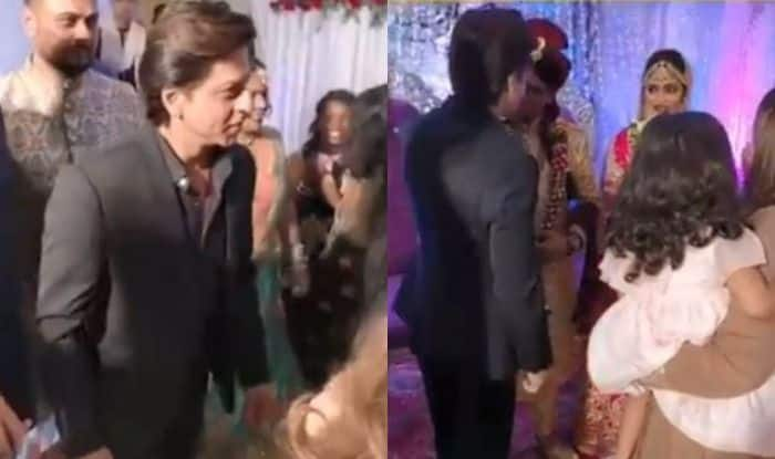 Shah Rukh Khan attends his hairstylist's sister's wedding