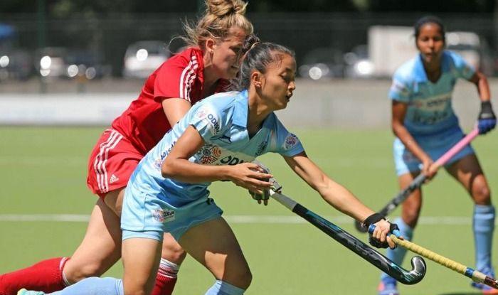 India's junior women's hockey team beat Canada 2-0 in the Cantor Fitzgerald U-21 International 4-Nations tournament
