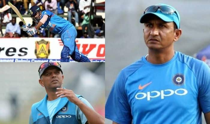 KL Rahul, Rahul Dravid and Sanjay Bangar