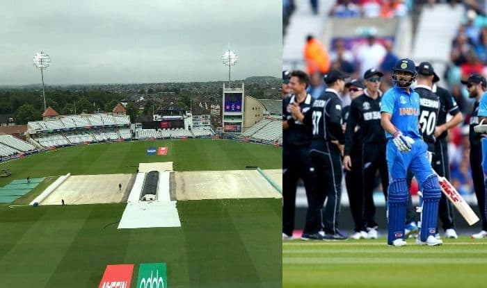 Wet outfield delays start of India-New Zealand game