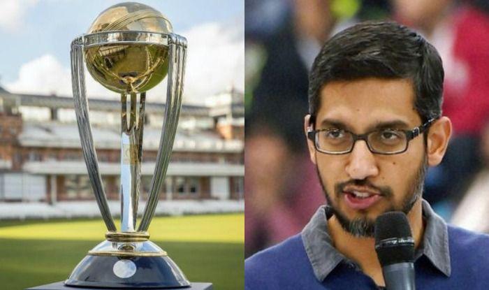 Sundar Pichai predicts India vs England final in ICC Cricket World Cup