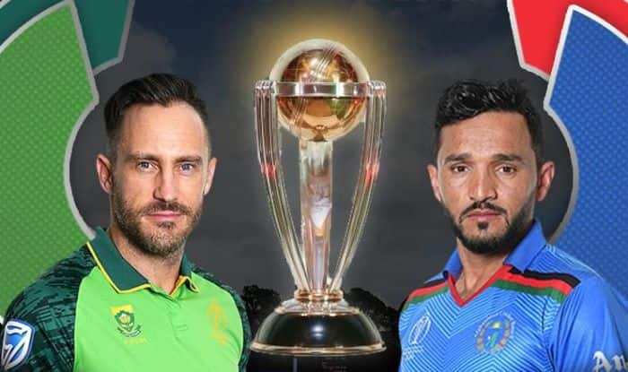 South Africa vs Afghanistan.