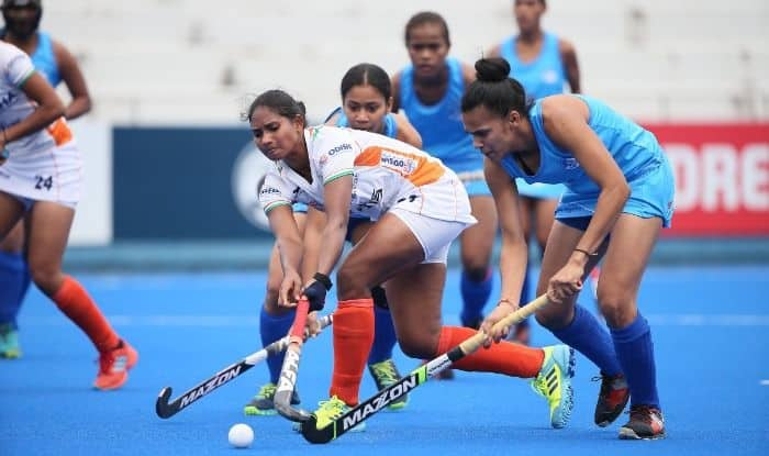 Indian Women's Team defeated Fiji 11-0 in their final Pool A match and sealed their berth in the Semi Finals