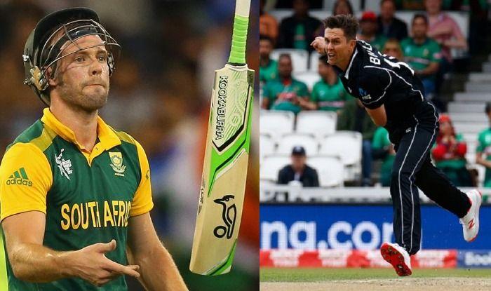 AB de Villiers and Trent Boult