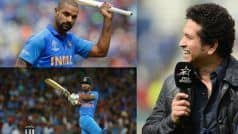 WC'19 | 'Feel For You Shikhar': Tendulkar Backs Injured Dhawan to Bounce Back Stronger