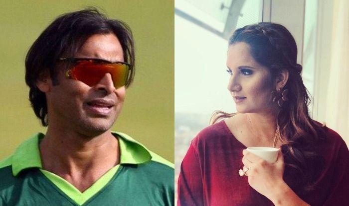 Shoaib Akhtar and Sania Mirza