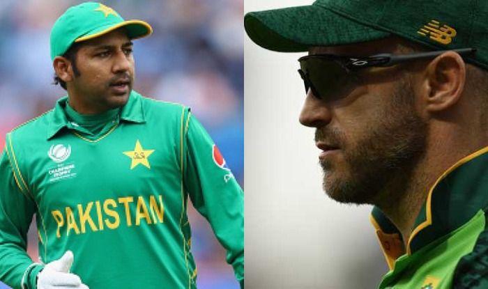 Sarfaraz Ahmed, Faf du Plessis , SA vs PAK, ICC Cricket World Cup 2019, CWC19, ICC World Cup 2019, South Africa vs Pakistan