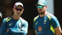 CWC'19: Finch Credits Langer For Australia's ODI Resurgence