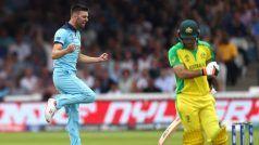 CWC'19: England Restrict Aussies to 285/7 Despite Finch Ton
