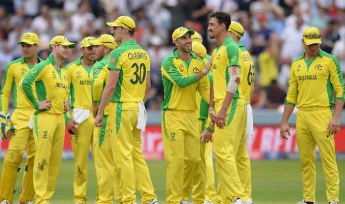 Australia seal a 64-run win over England.