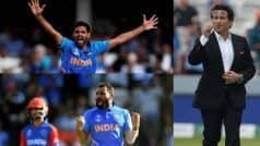 CWC'19: Kohli Should Pick Bhuvi Over Shami For WI Tie: Tendulkar