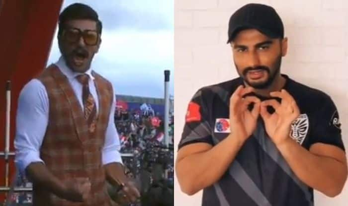 Arjun Kapoor Rooting For Ranveer Singh's Off-Pitch Performance at India VS Pakistan Match is All BFFs Ever!