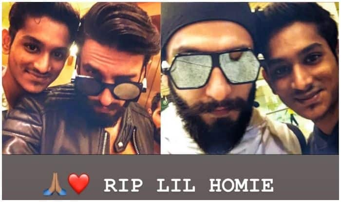 Ranveer Singh Calls THIS Person His 'Homie,' Pays Condolences on Social Media