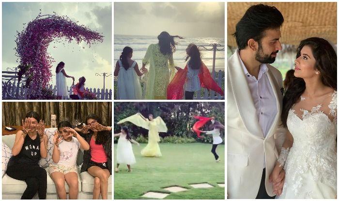 Sushmita Sen's Brother Rajeev Sen And Charu Asopa's Goan Wedding Looks Straight From Unicorn Island