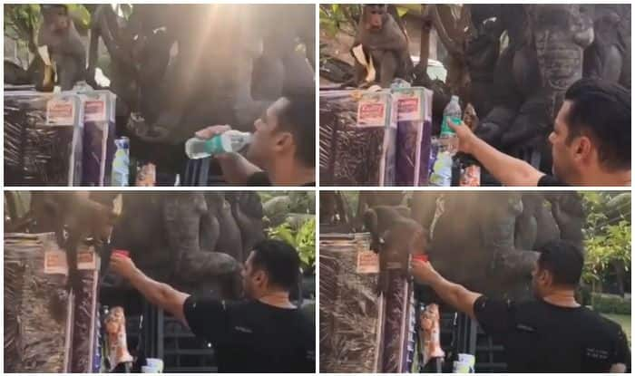 Salman Khan Teaching 'Bajrangi Bhaijaan' to Drink Water From Bottle Will Crack You up Within Seconds