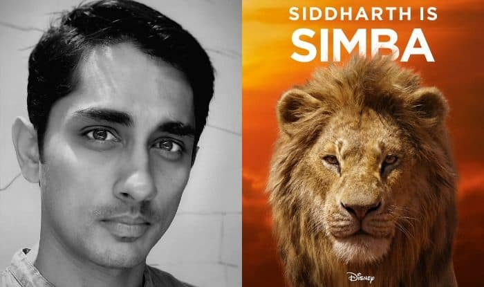 Siddharth, Simba, The Lion King