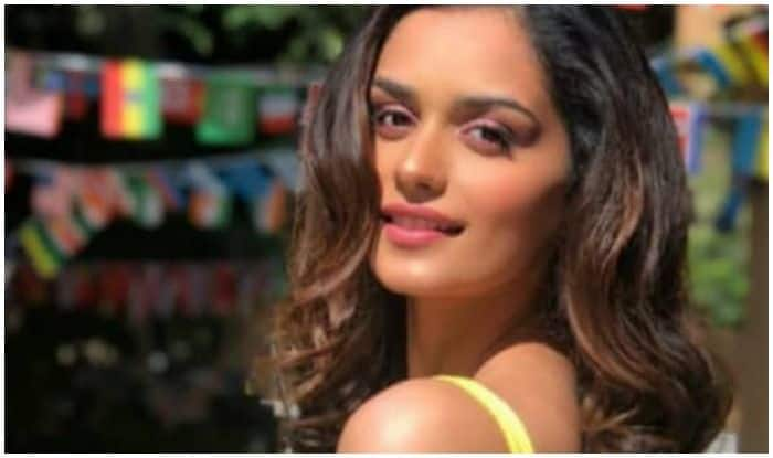 Manushi Chhillar's Latest Picture in Yellow Strap Dress Will Surely Add Sunshine to Your Dull Mid-Week