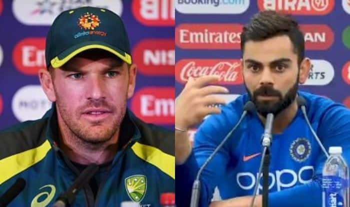 ICC World Cup 2019: Virat Kohli, Aaron Finch Angry Over Bails Not Falling Off
