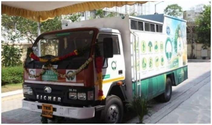 Chennai Launches Tree Ambulance With 'Aim to Implement Across Country by 2020'