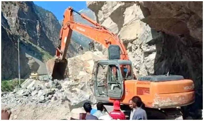 One Feared Dead in Rock Slide in Kinnaur, Himachal Pradesh