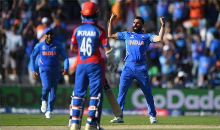 Mohammed Shami, MS Dhoni, ICC World Cup 2019, Cricket World Cup 2019, Shami Credits Dhoni For Hat-Trick, Mohammed Shami Hat-Trick, Shami World Cup Hat-Trick, Shami World Cup, Shami Credits Dhoni, Shami-Dhoni, Cricket News