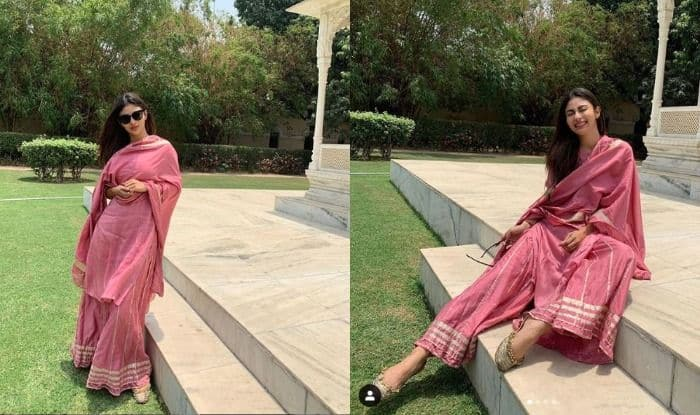 Mouni Roy Takes The Hotness Quotient to The Next Level With This Palazzo Suit, Check Pics