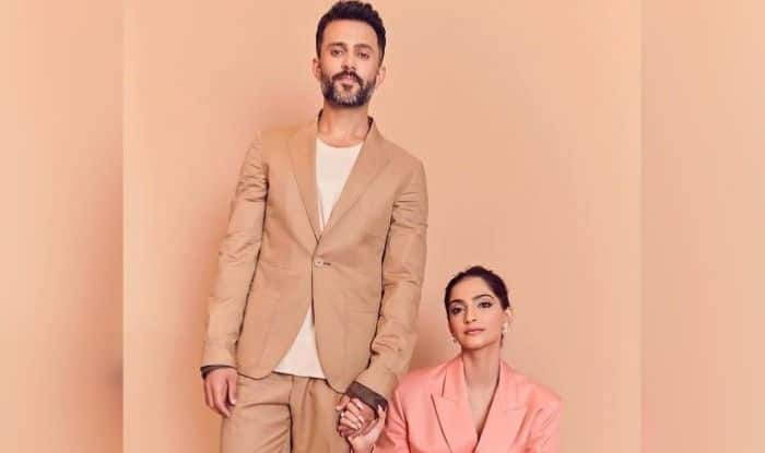 Sonam Kapoor and Ananad Ahuja for GQ Best Dress Awards 2019