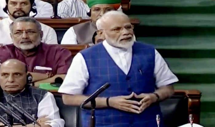 Modi in Parliament: PM Modi Ends Address, Lok Sabha Adjourns For The Day