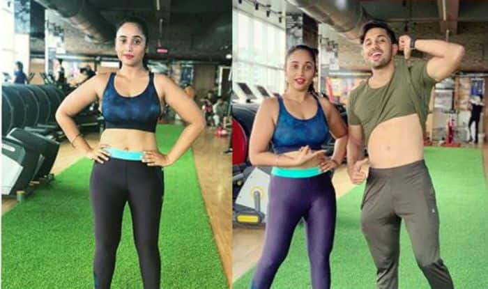 Rani Chatterjee's Hot Gym Pictures With Trainer Will Wash Away Your Mid-Week Blues