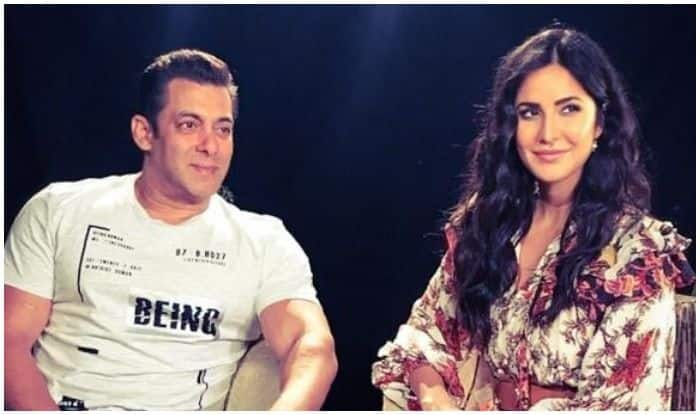 Salman Khan Wishing Katrina Kaif Through Old School Romance Picture Speaks Volumes About Their Bond