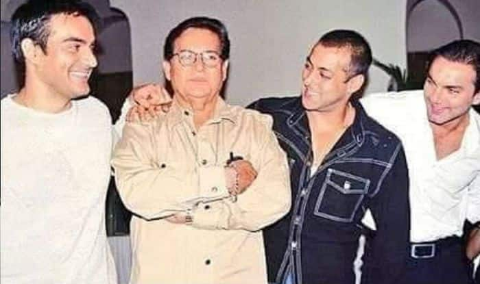 Salman Khan Shares Old Photo With Salim Khan on Father's Day And Reveals Interesting Details About Him