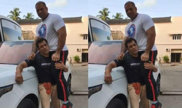 Salman Khan Lifts His 122kg Nephew Abdullah on One Shoulder, Watch Fitness Video