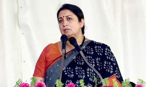 Smriti Irani on NRC issue said that no Indian will be left out.