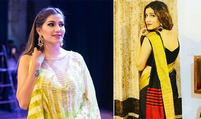 Sapna Choudhary Dances to 'Teri Aakhya Ka Yo Kajal' at Stage Show in Vizag