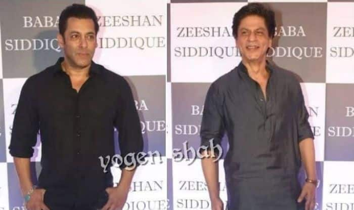 Shah Rukh, Salman, Katrina, Mouni Roy at Baba Siddique Iftar Party