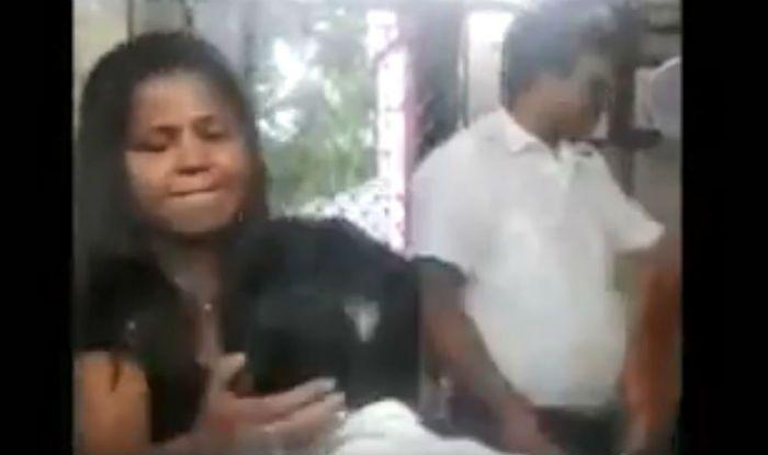 Mumbai Woman Slaps Indian Railways Clerk For Stealing Her Mobile, Video Goes Viral