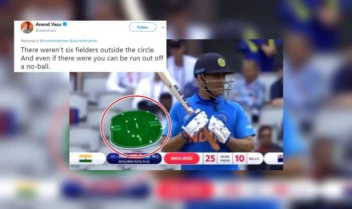 MS Dhoni, MS Dhoni dismissal, MS Dhoni retiring, Six Fielders, Dhoni out of no-ball, MS Dhoni runout, ICC Cricket World Cup 2019 Semi-Final 1, ICC World Cup 2019 Semi-Final 1, Cricket News, New Zealand beat India by 18 runs, Manchester, Old Trafford, World Cup 2019