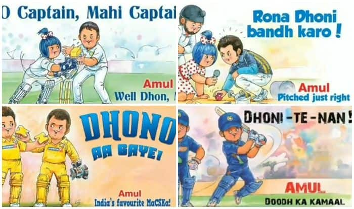MS Dhoni, Amul Coop Tribute, Amul Pays tribute to MS Dhoni, MS Dhoni Birthday, Rishabh Pant, Guru-shishya, Dhoni turns 38, Happy Birthday Dhoni, Happy Birthday MS Dhoni, ICC Cricket World Cup 2019, Team India, MS Dhoni Happy Birthday, Cricket News, MS Dhoni Birthday Wishes, BCCI, Dhoni World Cup 2019, MS Dhoni World Cup