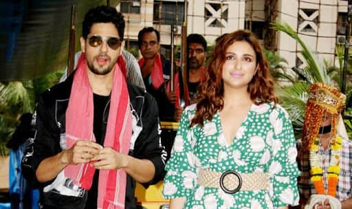 Watch: Sidharth Malhotra-Parineeti Chopra at Jabariya Jodi Trailer Launch
