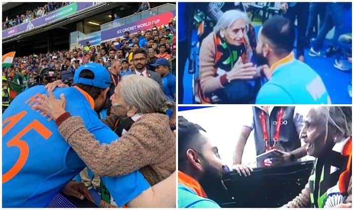 Virat Kohli meeting daadi, Rohit Shatrma meets daadi, India beat Bangladesh, Indian dadi, Indian dadi expressions, Indian fans, dadi goes viral, Twitter Viral, Twitter Trending, India vs Bangladesh, Ind vs Ban, ICC Cricket World Cup 2019, Match no 40, Edgbaston, Birmingham, Cricket News, Indian Cricket National Team, Team India, Indian Cricket Team